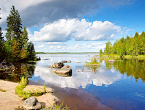 Karelia - the land of lakes
